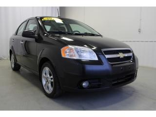 Used 2010 Chevrolet Aveo LT for sale in Châteauguay, QC