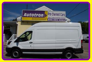 Used 2017 Ford TRANSIT-250 High Roof Cargo Van, Loaded for sale in Woodbridge, ON