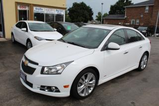 Used 2014 Chevrolet Cruze 2LT RS Leather Roof Nav for sale in Brampton, ON
