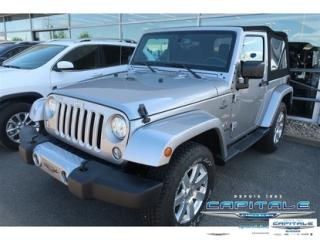 Used 2017 Jeep Wrangler Sahara for sale in Quebec, QC