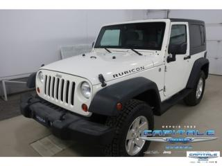 Used 2010 Jeep Wrangler Rubicon 4x4 Awd for sale in Quebec, QC