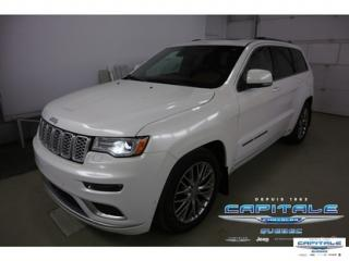 Used 2017 Jeep Grand Cherokee Summit 4x4 Awd Nav for sale in Quebec, QC