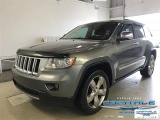 Used 2012 Jeep Grand Cherokee Overland 4x4 Awd for sale in Quebec, QC