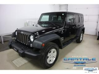 Used 2014 Jeep Wrangler Unltd Sport 4x4 Awd for sale in Quebec, QC