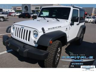 Used 2017 Jeep Wrangler RUBICON for sale in Quebec, QC