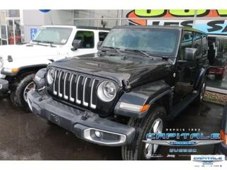 Used 2018 Jeep Wrangler Sahara for sale in Quebec, QC
