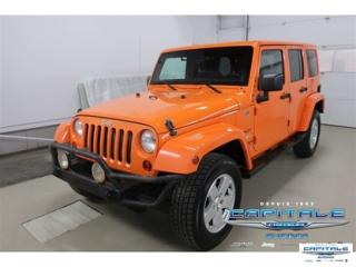 Used 2012 Jeep Wrangler SAHARA 4x4 AWD for sale in Quebec, QC