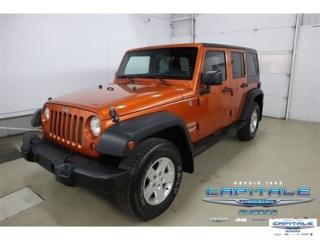 Used 2011 Jeep Wrangler SPORT for sale in Quebec, QC