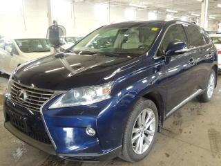 Used 2015 Lexus RX 350 NAVI, LEATHER, BACK UP CAMERA for sale in Mississauga, ON