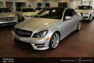 Used 2013 Mercedes-Benz C-Class C350 Coupé Awd for sale in Québec, QC