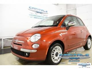 Used 2015 Fiat 500 Lounge for sale in Quebec, QC