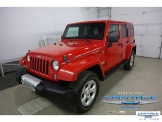 Used 2014 Jeep Wrangler UNLTD SAHARA for sale in Quebec, QC