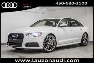Used 2017 Audi A6 2.0t Technik S-Line for sale in Laval, QC