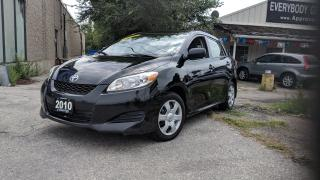 Used 2010 Toyota Matrix NO ACCIDENT|PWR OPT GROUP| for sale in Mississauga, ON