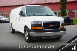 Used 2014 GMC Savana 2500 CARGO VAN 2500 EXTENDED + A/C + BAS KILO for sale in St-Basile-le-Grand, QC