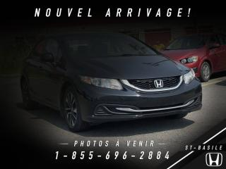 Used 2013 Honda Civic TOIT + MAGS + BLUETOOTH !! for sale in St-Basile-le-Grand, QC