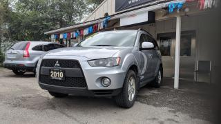 Used 2010 Mitsubishi Outlander OUTLANDER LS|CLEAN CARPROOF for sale in Mississauga, ON