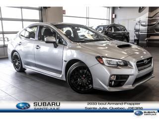 Used 2015 Subaru WRX Sport Pkg for sale in Ste-Julie, QC