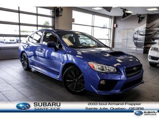 Used 2017 Subaru WRX for sale in Ste-Julie, QC