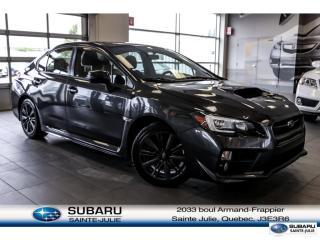 Used 2017 Subaru WRX SPORT for sale in Ste-Julie, QC