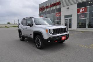 Used 2016 Jeep Renegade Trailhawk | Back up camera | 4WD | Low KM for sale in Listowel, ON