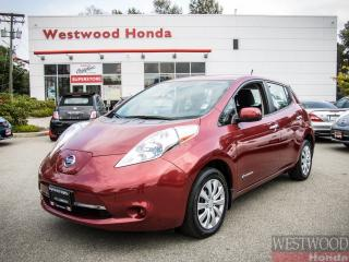 Used 2014 Nissan Leaf S, Zero Emissions for sale in Port Moody, BC