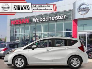 New 2018 Nissan Versa Note SV CVT  - Bluetooth -  Heated Seats - $135.78 B/W for sale in Mississauga, ON