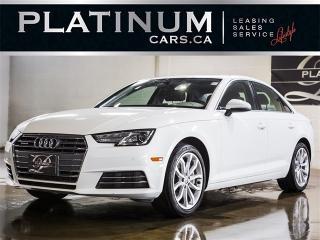Used 2017 Audi A4 2.0T Quattro PROGRESSIV, NAVI,MOONROOF, CAM for sale in Toronto, ON