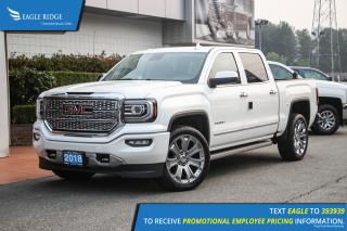 New 2018 GMC Sierra 1500 Denali Navigation, Heated & Ventilated Seats, Sunroof for sale in Coquitlam, BC