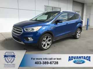 Used 2017 Ford Escape Titanium for sale in Calgary, AB