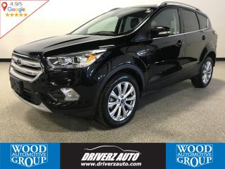 Used 2018 Ford Escape Titanium AWD WITH LEATHER, PANORAMIC ROOF, PARK ASSIST for sale in Calgary, AB