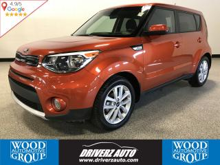 Used 2018 Kia Soul EX ACCIDENT FREE, HEATED STEERING WHEEL, REARVIEW CAMERA for sale in Calgary, AB
