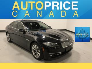 Used 2014 BMW 528 i xDrive MOONROOF|NAVIGATION|LEATHER|ONE OWNER|CLEAN CARPROOF for sale in Mississauga, ON