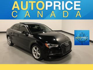 Used 2015 Audi A3 1.8T Komfort PANOROOF|LEATHER|HEATED SEATS for sale in Mississauga, ON
