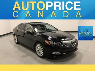 Used 2014 Acura RLX Base MOONROOF|NAVIGATION|LEATHER|CLEAN CARPROOF for sale in Mississauga, ON