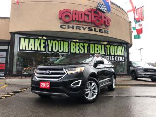 Used 2015 Ford Edge SEL AWD NAVI LOW KMS LEATHER PANORAMIC ROOF CAMERA for sale in Toronto, ON