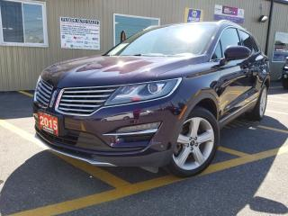 Used 2015 Lincoln MKC LOW KM-FACTORY WARRANTY-REVERSE CAMERA-LEATHER for sale in Tilbury, ON