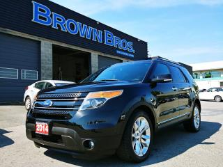 Used 2014 Ford Explorer Limited, LOCAL, NAVIGATION, MOONROOF, ALL OPTIONS for sale in Surrey, BC