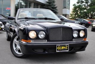 Used 2001 Bentley Azure WIDE BODY CONVERTIBLE for sale in Oakville, ON