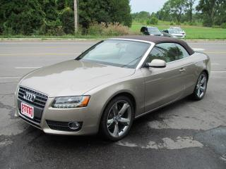 Used 2011 Audi A5 CABRIOLET 2.0T FRONT for sale in Brockville, ON