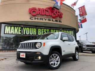 Used 2018 Jeep Renegade North NAV H-TED SEAT REAR CAM PANO ROOF 4X4 for sale in Toronto, ON