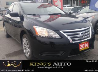 Used 2014 Nissan Sentra SV for sale in Scarborough, ON