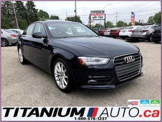 Used 2014 Audi A4 Progressive-Quattro-GPS-Camera-Brown Leather-XM- for sale in London, ON