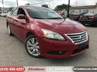 Used 2013 Nissan Sentra SL | NAV | LEATHER | ROOF | HEATED SEATS for sale in London, ON