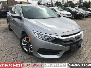 Used 2017 Honda Civic LX   CAM   HEATED SEATS for sale in London, ON