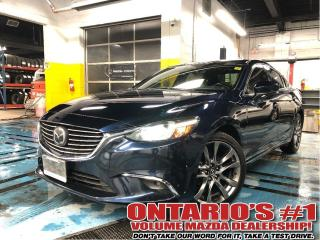 Used 2017 Mazda MAZDA6 GT-NAVIGATION, TECH PKG/1.99%, C.P.O!!! for sale in Toronto, ON