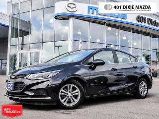 Used 2017 Chevrolet Cruze LT Auto, NO ACCIDENTS, ALLOY WHEELS for sale in Mississauga, ON