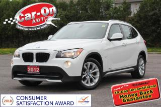 Used 2012 BMW X1 xDrive28i AWD LEATHER PANO ROOF HTD SEATS LOADED for sale in Ottawa, ON