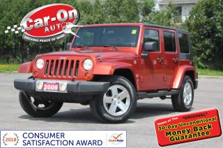 Used 2009 Jeep Wrangler Unlimited Sahara 4X4 6 Speed A/C CRUISE ALLOYS for sale in Ottawa, ON