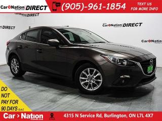 Used 2014 Mazda MAZDA3 GS-SKY| SUNROOF| BACK UP CAM| LOCAL TRADE| for sale in Burlington, ON